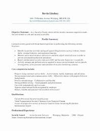 Entry Level Unarmed Security Guard Resume Best Of Sample