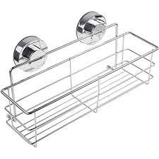duschkörb ablage selbstklebend duschkorbe wandablage badezimmer küche caddy badregal ohne bohren duschregal 304 edelstahl silber