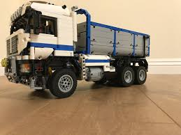 LEGO MOC-2394 6x6 Dump Truck (attachment) (Technic 2015 ... Garbage Truck Lego Classic Legocom Us City Truck 60118 Ebay Lego Technic 42078 Mack Anthem Test Rc Mod Images Racingbrick Totobricks Classic 10704 How To Build A Ideas Product Front Loader Its Not Enlighten 11 Set Review Juniors Bed 9 City Itructions For 60017 Flatbed Building 4659 Duplo Search Results Shop Set For Sale Online Brick Marketplace