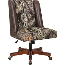 Linon Mossy Oak Break Up Country Pattern Upholstered Office Chair — Walnut  Wood Base, 24in.W X 26in.D X 36.25–40.25in.H 90 Off Blue Upholstered Office Chair Chairs Heydon Fully Upholstered Office Chair No Arms Jk Fniture Baldridge Swivel Desk Bernie Phyls Wicker Midback Walnut Wood Conference In Black Leather Homestead Lacquered Lorry Modern Classic Beige Cedar Armrest Amazoncom Bankers With Arms Adjustable Height Mentor Office Chair Nuans Smudge Buckeye Rockers Deck With Solid Art Inc Contemporary Casters