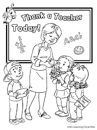 27 Free Printable Teacher Coloring Page For Kids