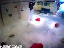 rough weather carnival cruise lines interior flooding youtube