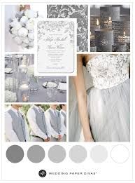 Neutral Soft Gray Wedding Inspiration
