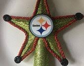 Pittsburgh Steelers Christmas Tree Topper 6