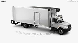International Durastar 4300 Refrigerator Truck 2007 3D Model By ...