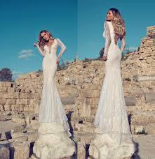israeli designer julie vino 2014 new arrival elegant v neck long
