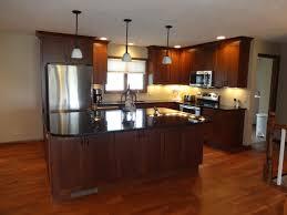 Kitchen Paint Colors With Natural Cherry Cabinets by Cherry Cabinets With Cappuccino Stain With Uba Tuba Granite