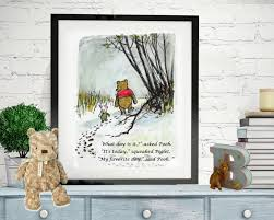 Winnie The Pooh Nursery Decor Uk by Winnie The Pooh Quotes Pooh Prints What Day Is It Asked
