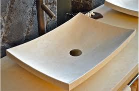 vasque en à poser esna 60x40cm design en marbre égyptien