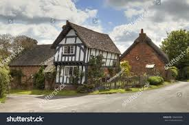 100 Houses In Preston Pretty Traditional Village On Stock Photo