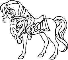 Best Horse Coloring Pages For Kids 41 On Free Book With