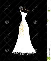 Wedding Dress clipart hanger clipart 1