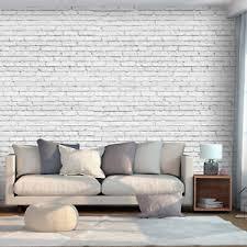 details zu vlies fototapete ziegel 3d optik mauer grau steinwand tapete wandbild 4motiv