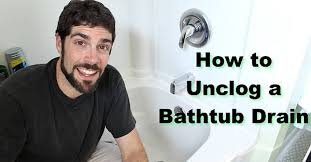 how to unclog a bathtub drain the easy way hometalk