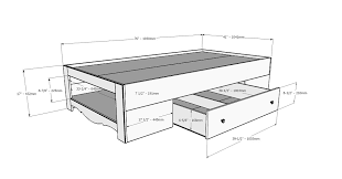 How Wide Is A Twin Bed Frame Nice As Twin Bed With Storage For