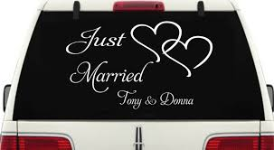 Just Married Car Window Decal #3 Personalized With Two Hearts Product Anime Dragonball Dragonballz Goku Supersaiyan 4 Rear Car Decal Window Sticker Graduation Gift Just Married Window Decal 3 Personalized With Two Hearts 9 Best Hunting Decals For Trucks Images On Pinterest Vinyl Lovely Custom Canada Northstarpilatescom Auto Transparent Wall Elrado Windshield Banner Vehicle Graphics Allen Signs Customer Photo Stencils T Amazoncom Sassenach