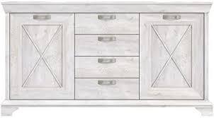 expendio sideboard kasimir 1 pinie weiß 178x96x48 cm