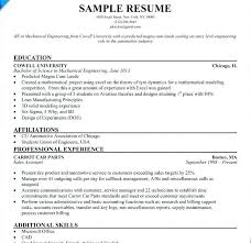 Resume Format For Internship Engineering India Marine Electrical Engineer Sample Beautiful Example College