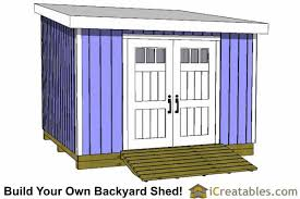 12x12 Storage Shed Plans Free by 12x12 Shed Plans Build Your Own Storage Lean To Or Garage Shed