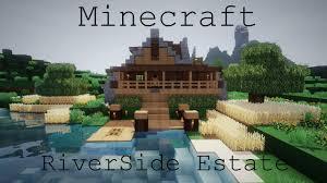 100 River Side House Minecraft Estate