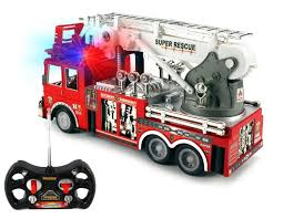100 Fire Trucks Toys 13 Rescue Rc Engine Truck Remote Control Truck Best Gift Toy For Boys With Lights Siren And Extending Ladder