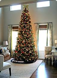 Downswept Slim Christmas Tree by Blue Mesh Decorated Christmas Tree Here Is A 6ft Pencil Tree
