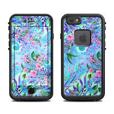 Lifeproof iPhone 6 Fre Case Skin Lavender Flowers by Juleez