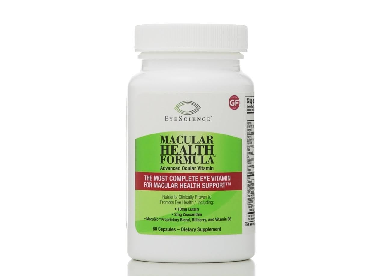 Eye Science Macular Health Formula Advanced Ocular Vitamin Capsules - 60ct