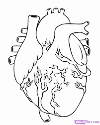 9 Pics Of Real Heart Coloring Pages