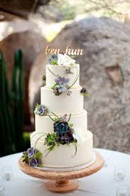 The Hottest 2015 Wedding Trend 42 Succulent Cakes