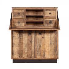 bureau furniture buy recycled wood plank bureau reclaimed desks living furniture