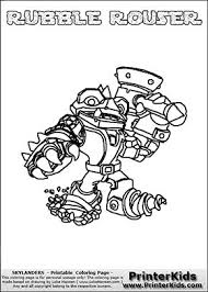 139 Best Skylanders Coloring Pages Images On Pinterest