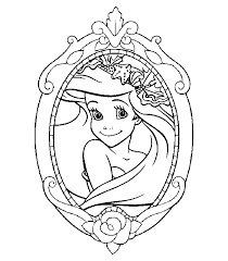 Disney Princesses Coloring Pages With Kids Free Printable Of Characters Christmas