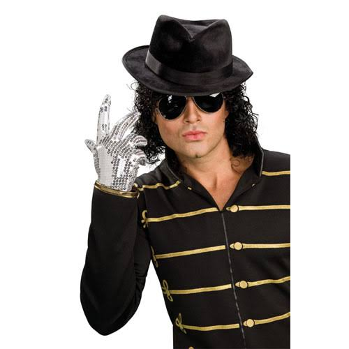Rubie's Costume Michael Jackson Silver Glove Adult Halloween Accessory