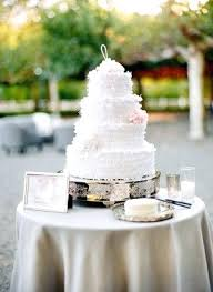 Cake Table Wedding Rustic