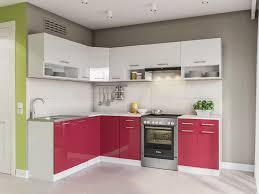 küche 250 cm rot küchenzeile küchenblock einbauküche komplettküche