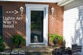 front doors outside front door wall lights front door ideas
