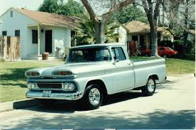 Dad's Dream Came True - 1960 Chevy Truck - Offenhauser