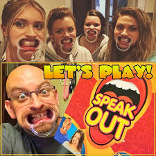 2016 SPEAK OUT Funny Mouthpiece Game Board Family Party In Gags Practical Jokes From Toys Hobbies On Aliexpress