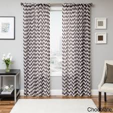 Purple Ombre Curtains Walmart by Curtains Fill Your Home With Pretty Chevron For Pattern Navy