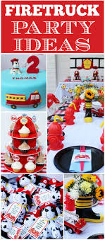 Fire Truck / Firefighter / Birthday
