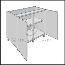 Blind Corner Base Cabinet by Kitchen Sink Dimensions Double Kitchen Sink Cabinet Width Photos