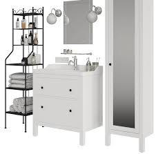 ikea hemnes bathroom 3d model 29 obj max unknown free3d