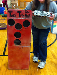 A Basic Ball Toss Game With Halloween Twist
