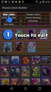 royale deck builder android apps on google play
