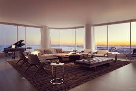 100 Luxury Penthouse Nyc 50 West Modern Homes