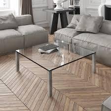 variablen salontisch aus glas dreieck design kaufen quadro