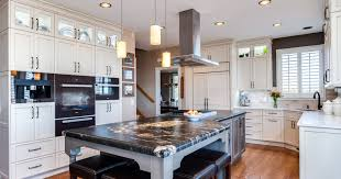 Kitchen Island With Cooktop And Seating Kitchen Islands Top The Must List In Denver Kitchens