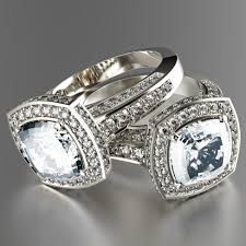 Beautiful Vintage Style Cushion Cut Engagement Rings
