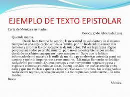 2 Ejemplos De Carta Epistolar